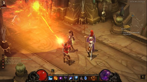 Diablo3プレイ日記Wizard編02 ~ベリアルが物凄く強い件~
