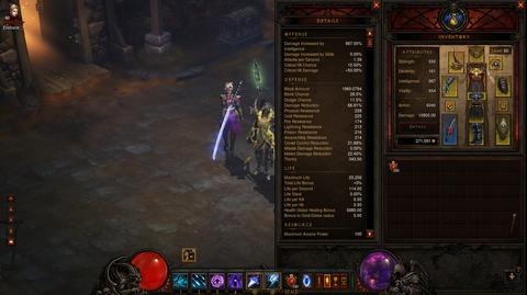 Diablo3 Wizard日記10(SC) ~装備とビルド~
