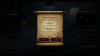 Diablo3 Demon Hunter日記01(HC) ~キャラ作成 / LV6 ~