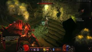 Diablo3 Demon Hunter日記06(HC) ~作り直して蜘蛛撃破 / LV16~
