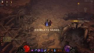 Diablo3 Wizard日記25(SC) ~ACT2金ゴブ狩り~