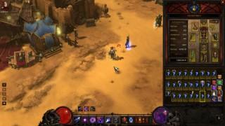 Diablo3 Wizard日記32(SC) ~ACT2でのレア(iLV61-63)DROP率~