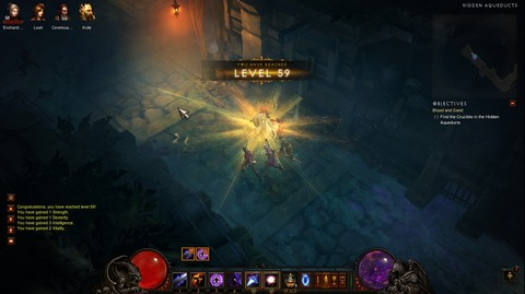 Diablo3 Wizard日記07(HC) ~HELL-ACT2攻略,LV60達成~