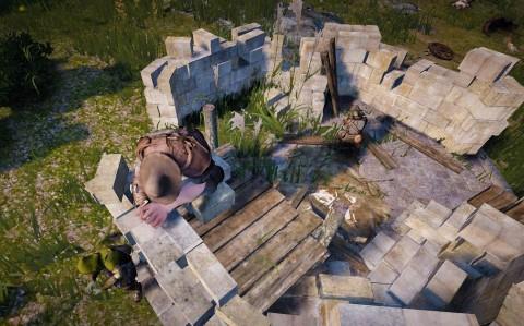 砦建築開始02