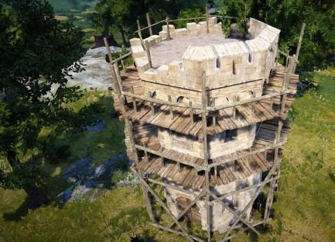 砦建築開始04