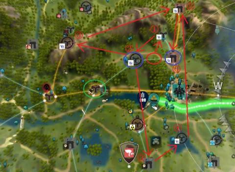 拠点戦争の動き02