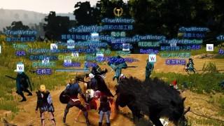 古き者ども支援 / バレノスセレンディア占領戦【黒い砂漠Part223】