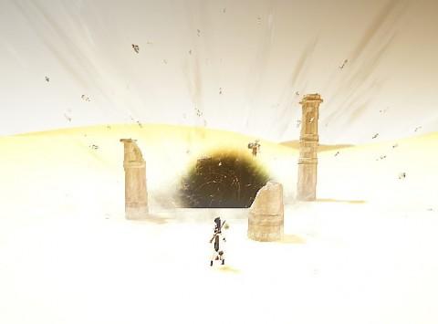 砂漠ゲート発見01
