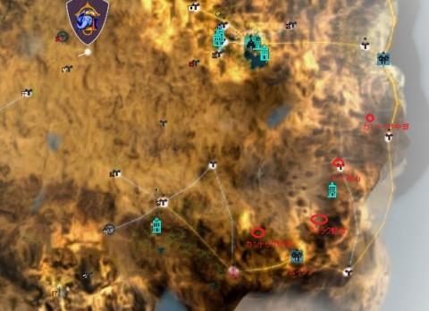 バレンシア追加南方マップ