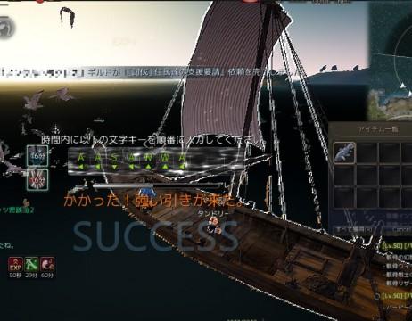 セチ釣り竿でカモメ釣り03