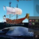 エフェリア帆船の砲撃でムントンクジラ吹き飛ばそうとしてみた【黒い砂漠Part1087】