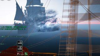 レマ島とラット港町を運行する定期船が竜巻に突入してた【黒い砂漠Part1167】