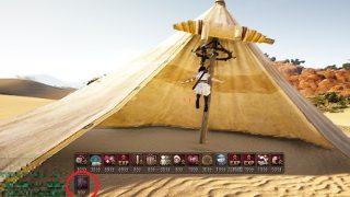 砂漠テントを見かけたので買って砂漠に設置してみた【黒い砂漠Part1263】