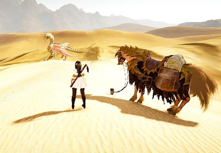 魚売りに砂漠横断してたらヌーベルさんがポツンと寂しそうにしてました【黒い砂漠Part1338】