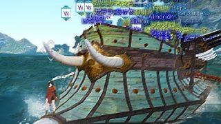 ギルドの皆でガレー船に乗り込み海の冒険に出発だー / ガレー船青装備の材料集め【黒い砂漠Part1303】