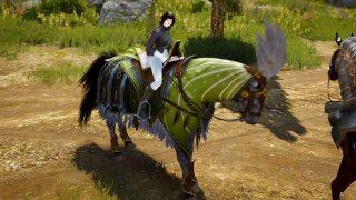 青い馬装備な新馬具グランベルシリーズの材料と作り方【黒い砂漠Part1407】