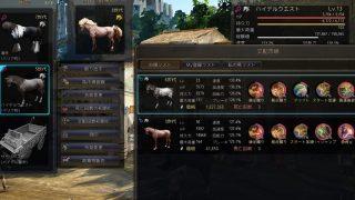 6世代LV22♂+5世代LV13♀=7世代♀【馬交配の結果Part73】