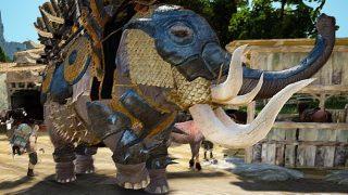 カポティア黄金象面を作成して象さんの青装備コンプしました【黒い砂漠Part1385】