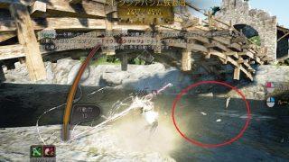 川のカモメみたいな魚飛び跳ねポイントでの初釣り【黒い砂漠Part1454】