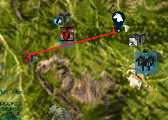 直進するクークー鳥の移動範囲が狭くなったっぽい【黒い砂漠Part1433】