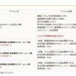 定期メンテ後情報 / 野蛮の亀裂実装とシラカン中間報告第二段(09/13)