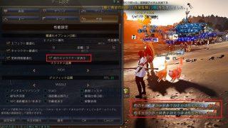 ゲーム設定に他のキャラクター非表示ボタンが追加されました【黒い砂漠Part1536】