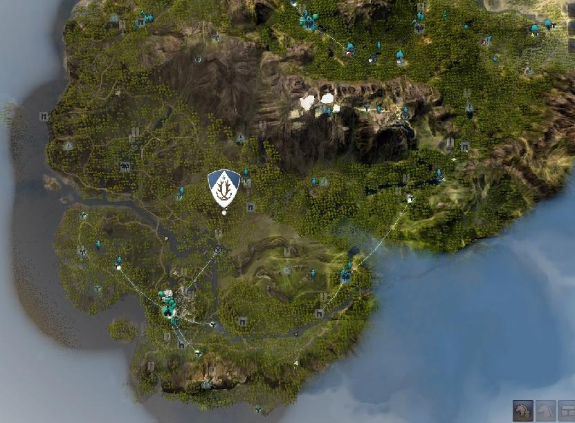 カーマスリビアの追加されたマップ