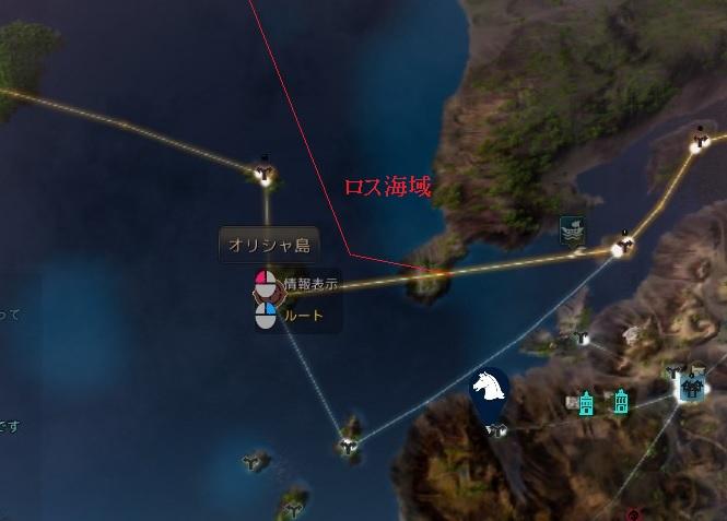 考古学者の地図を使った釣り場探し開始01