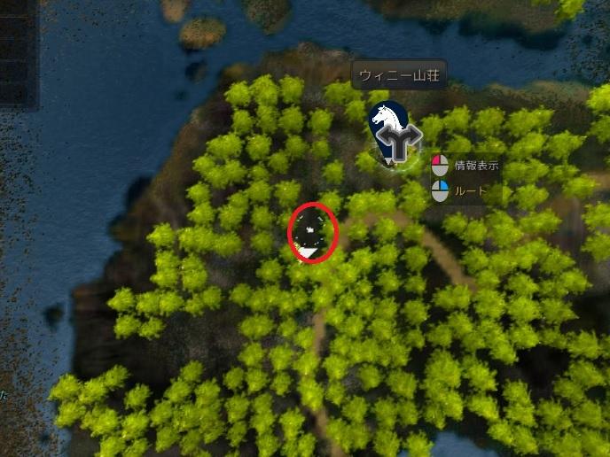 探索ポイント断層地形02
