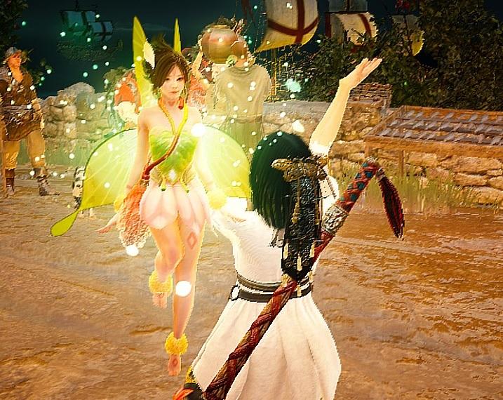 封印された妖精の羽から煌く妖精の羽優しいレイラをゲット04
