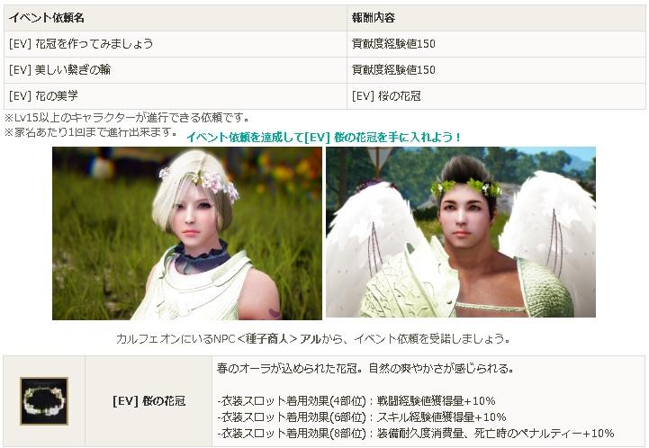 桜の花冠イベント01