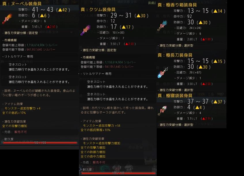 初心者用の補助武器の選び方講座04