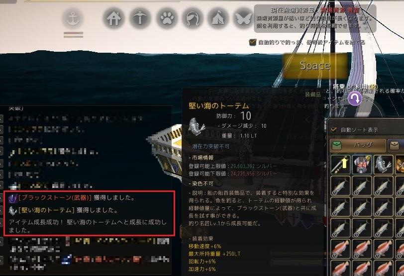 地味な海の黄色いトーテムが堅くなりました2個目02