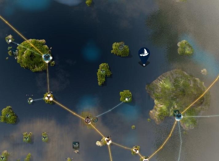 シクライア海底遺跡の場所はイリヤ島北西部のようです02
