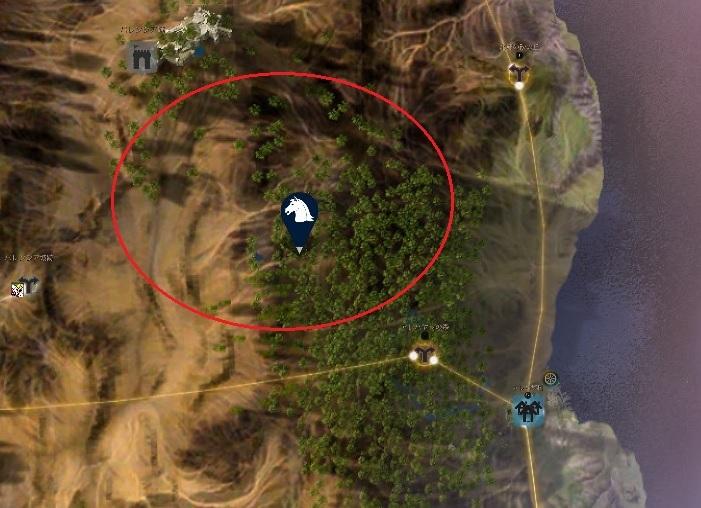 狩猟用のバレンシアライオンや巨大ヤギの生息地02