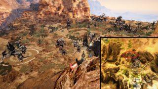 黒いオーラに侵食された新三日月狩場の場所と1時間のDROP【黒い砂漠Part2187】