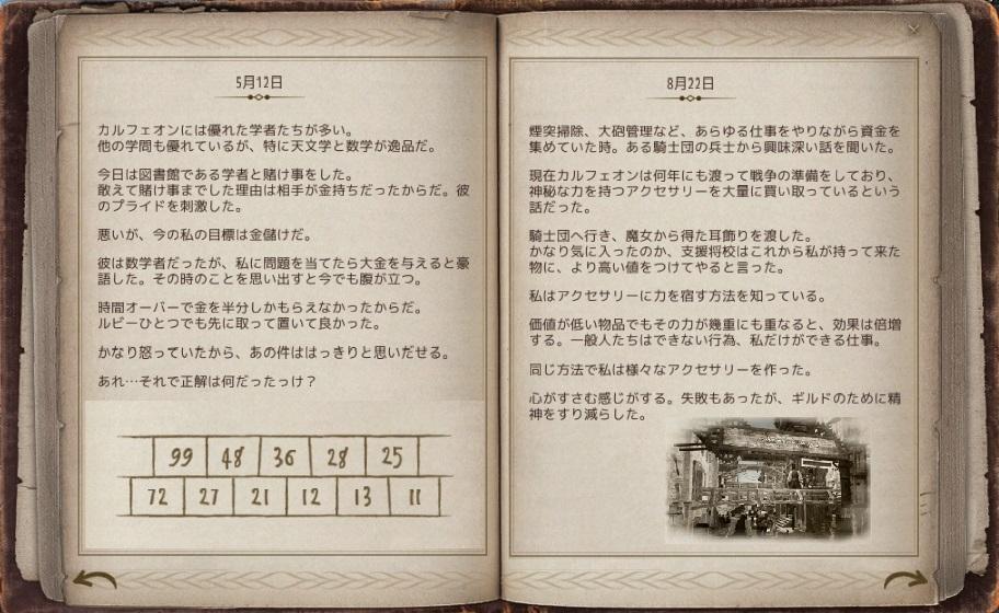 バルタリ冒険日誌のストーリー画像集 第二篇【黒い砂漠Part2271】
