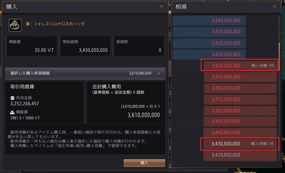 強化金策で作ったアクセを売る方法02