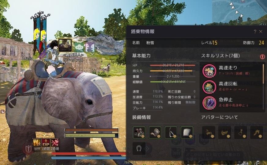 小象さんのハラペコ属性が解除されました02
