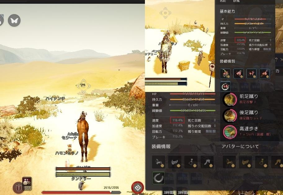 馬と小象とラクダの砂漠における速度比較やってきました02