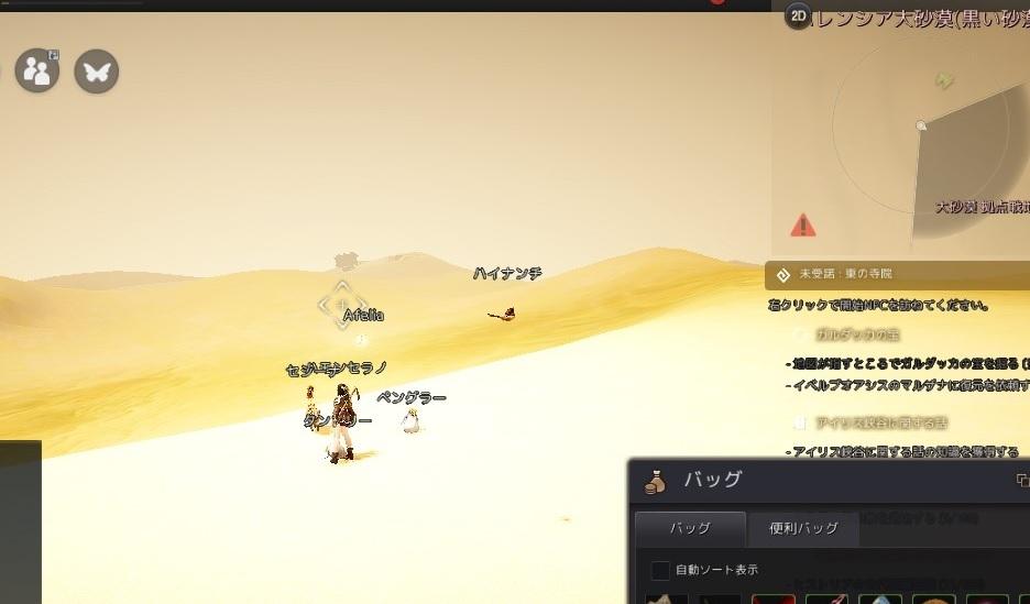 ガルダッカの地図大砂漠をクリアしてコンプまで後2つに03