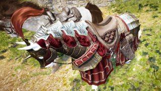 風のクログダル馬具セットを作ってグランベル馬具と比較【黒い砂漠Part2461】