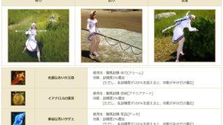 定期メンテ後情報 / 幻想馬用の訓練アイテムDROPイベント(06/05)
