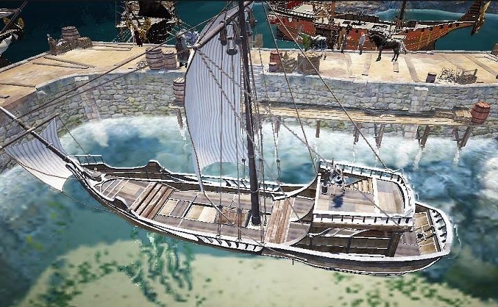 エフェリア高速艇と軽帆船の使用感を比較してきた【黒い砂漠Part2682】