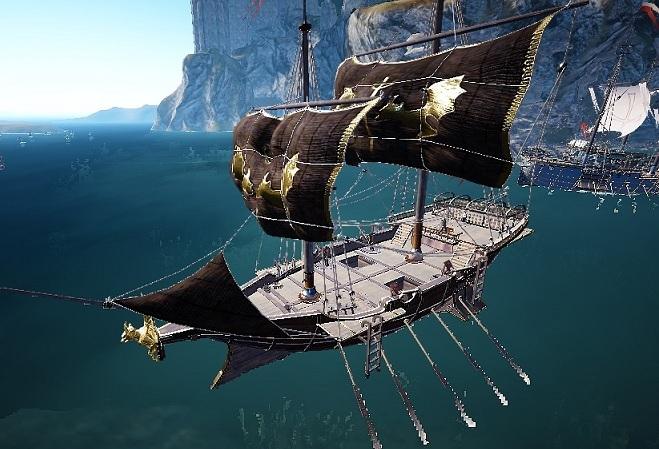 エフェリア護衛艦の建造が完了しました / 船造りの労働者全員解雇【黒い砂漠Part2713】