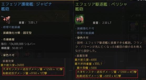 駆逐艦+10緑艦砲と護衛艦+7青艦砲どちらが強いか検証してみた02
