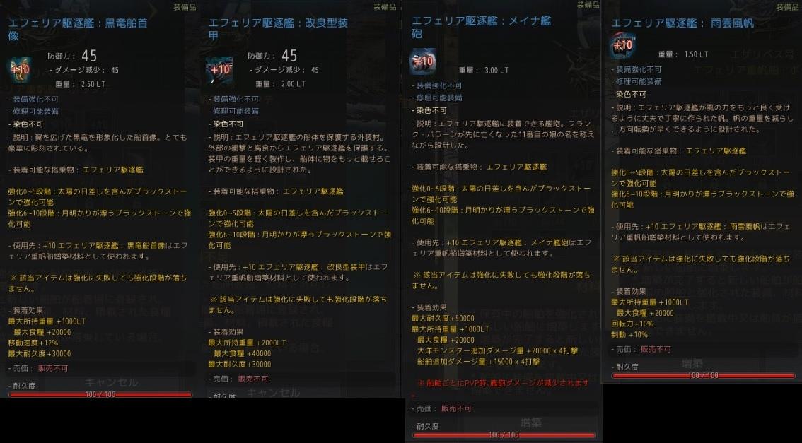 駆逐艦+10青装備の性能と物々交換を縮小した理由について01