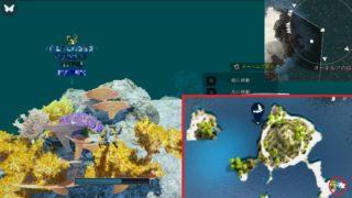 ラッパ珊瑚とマダラ珊瑚の場所を探して五色サンゴの欠片集め開始【黒い砂漠Part2792】