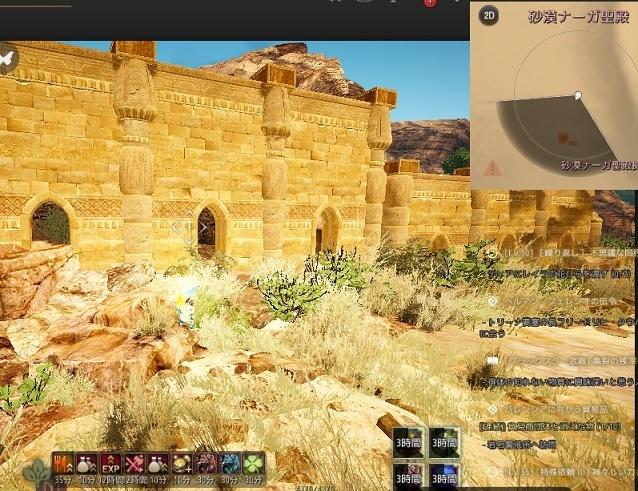 砂漠ナーガ神殿の壁すり抜けスポットにご注意を01