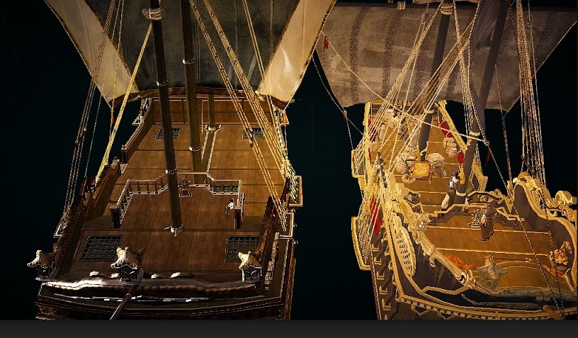 重帆船でのラット貿易と終末重帆船とボランテの見た目の違い03